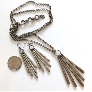 Lucky Brand☘️ Necklace Earring Set
